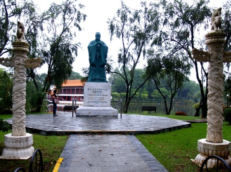 Confusius, sumber inspirasi penataan Chinese Garden