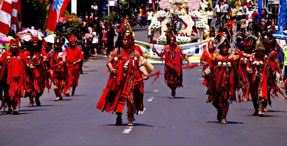 Pesta Bunga di Tomohon