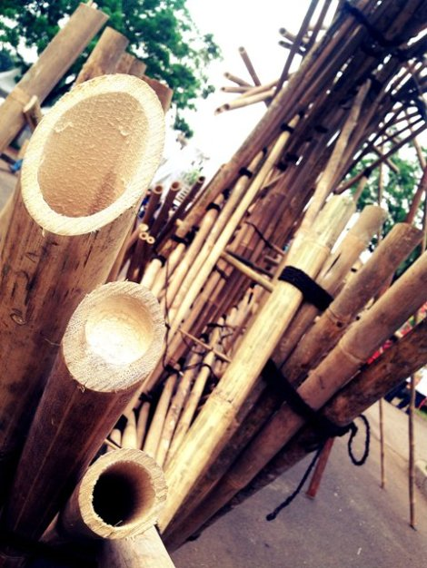 seni seikat bambu