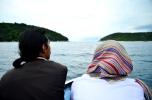 Menikmati gugusan pulau di perairan Anambas.