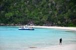 Tenangnya Pulau Penjalin, pulau sunyi tanpa penghuni.