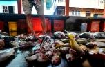 Di pasar, ikan adalah primadona karena harganya yang lebih murah dibanding sayuran.